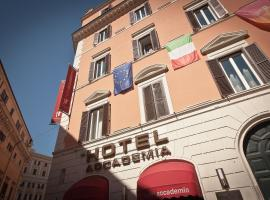 Singer Palace Hotel, מלון ברומא