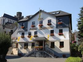 Goldener Pfropfenzieher, hotel near Lorelei, Oberwesel