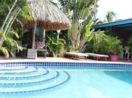 Caribbean Flower Apartments, hotel near Curaçao International Airport - CUR,