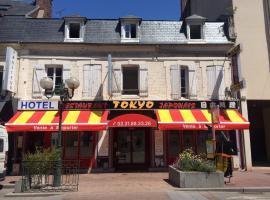 Hotel Restaurant Tokyo, budget hotel in Trouville-sur-Mer