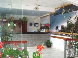 Pousada Papaya Container, hotel em Ubatuba