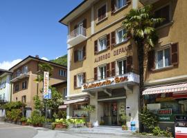 Defanti, hotel in Lavorgo
