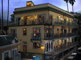 The Avalon Hotel in Catalina Island