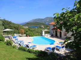 Apartments Grgic, hotel with pools in Korčula