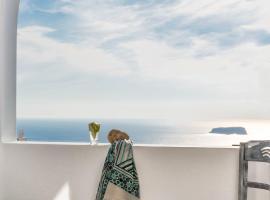 Aspronisi Luxury Villa with Caldera View