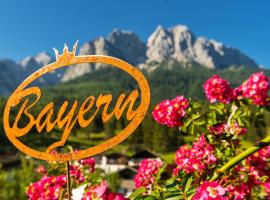 Bayern Resort Hotel (Adults only), pet-friendly hotel in Grainau
