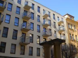 Aparthotel Austria Suites – hotel w pobliżu miejsca Willa Bertramka w Pradze