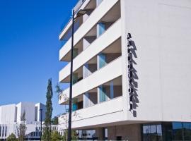 Apartment Hotel Aallonkoti, hotelli Helsingissä lähellä maamerkkiä Kampin metroasema