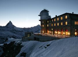 3100 Kulmhotel Gornergrat, hotel near Gorner Ridge, Zermatt