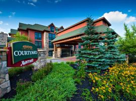 Courtyard Marriott Lake Placid, hotel with jacuzzis in Lake Placid