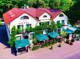 Hotel Spinaker – hotel w pobliżu miejsca Latarnia morska Stilo w Łebie