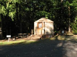 Mount Hood Village Yurt 1