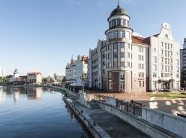 Kaiserhof Hotel, hotel with pools in Kaliningrad