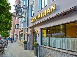Hotel Maximilian - Stadthaus Penz, hotel v destinaci Innsbruck