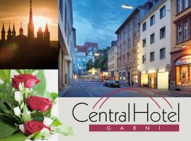 Central Hotel Garni, hotell i Würzburg