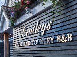 Bentleys Coast and Country B&B, hotel in Lymington