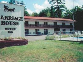 Carriage House Motor Inn, hotel with jacuzzis in Lake Placid