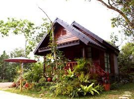 Baansuanlynjee Maeklong Resort, hotel in Amphawa