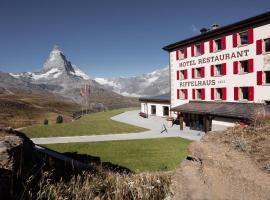 Riffelhaus 1853, hotel near Gorner Ridge, Zermatt