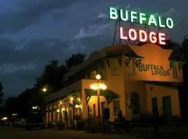 Buffalo Lodge Bicycle Resort - Amazing access to local trails & the Garden, motel in Colorado Springs
