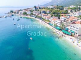 Apartment Orca, room in Gradac
