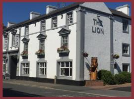 The Lion Hotel, hotel near Kedleston Hall, Belper