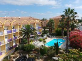 Albizzia, hotel in Valras-Plage