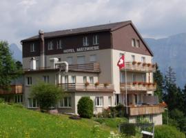 Hotel Garni Maetzwiese