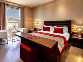 Olivia Plaza Hotel, accessible hotel in Barcelona