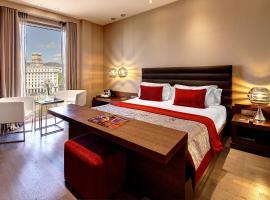 オリビア プラザ ホテル、バルセロナのホテル
