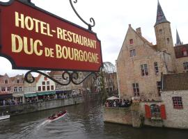 Hotel Duc De Bourgogne, hotel near Beguinage, Bruges