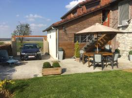 """A la petite éolienne"", self catering accommodation in Froid-Chapelle"