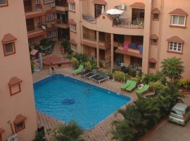Saldanah Kyale Gardens, apartment in Calangute
