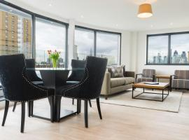 City Aldgate Apartments, apartment in London