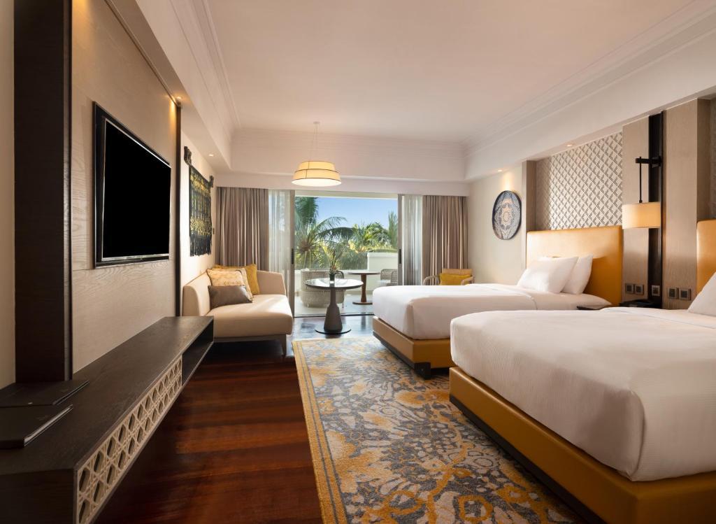 Номер в корпусі Cliff Tower з 2 односпальними ліжками – Вид на басейн: фотографія №1