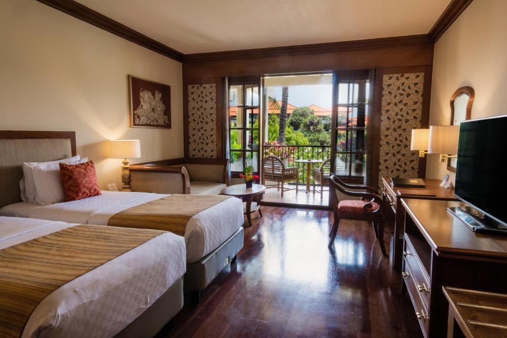 Двомісний номер Делюкс з 1 двоспальним ліжком або 2 окремими ліжками: фотографія №1