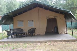 Safari Stany Praha - Safari Tents Prague