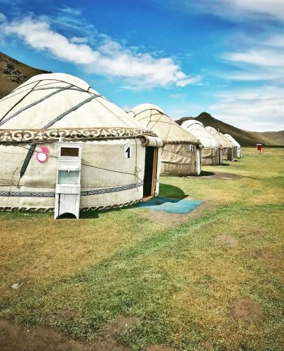 Yurt Camp Azamat at Song Kol Lake