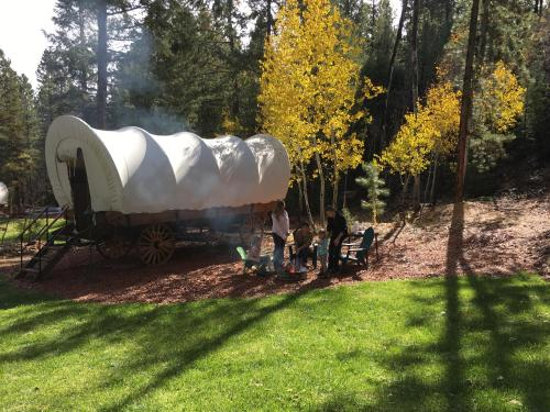 Whispering Pines Covered Wagons