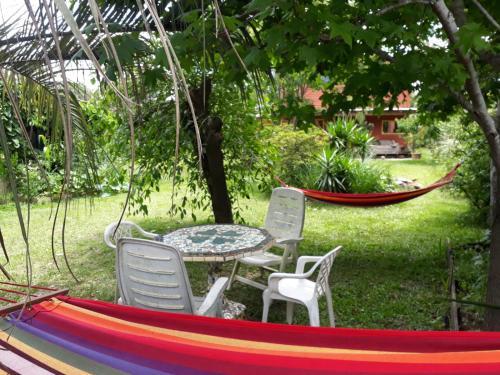 Habitación privada en cabaña en La Paloma