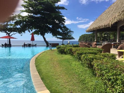 Duplex vue mer, accès direct a la plage le luxe
