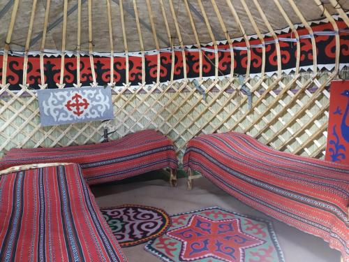 Yurt Camp Muras in Song Kol lake