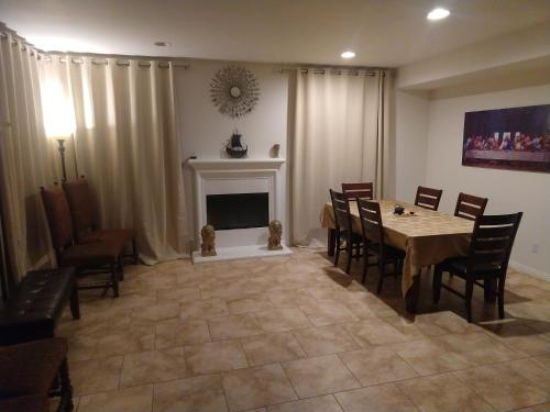 Six Flags Luxury private rooms