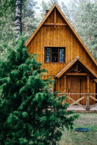 Woodland lodge near Riga