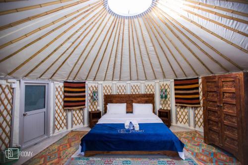 Roomy Yurts at Osho Thang Hotel
