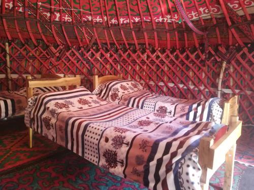 Yurt Camp Azamat at Song Kol Lake