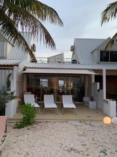 Villa Ti Sable - on the beach