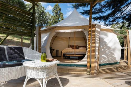 Zen Relax Tent at Paradise Valley Glamping