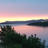 Leilighet med fjord utsikt