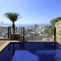 Rio034-Luxury 2 bedroom penthouse with pool